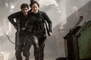 Katniss e Gale nel terzo film di Hunger Games