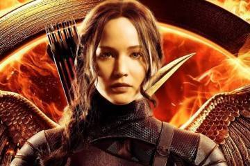 La bella Jennifer Lawrence nei panni di Katniss