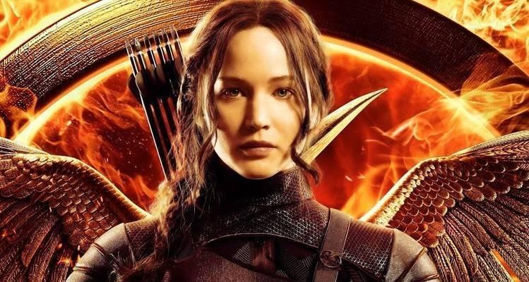La bella Jennifer Lawrence nei panni di Katniss