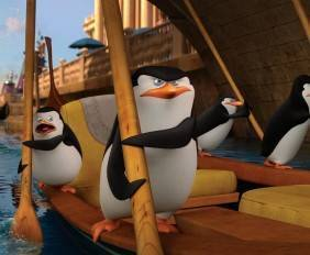 I quattro protagonisti del film I pinguini di Madagascar!