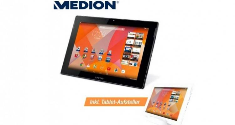 Medion Lifetab S10346, nuovo tablet Android per l'Europa