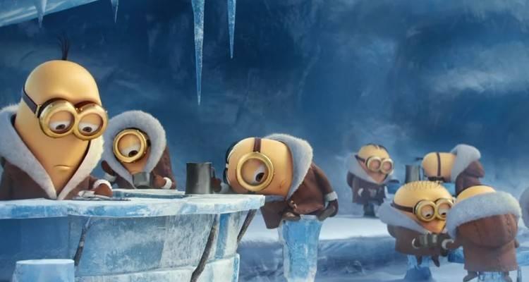 Un'immagine del film di Minions