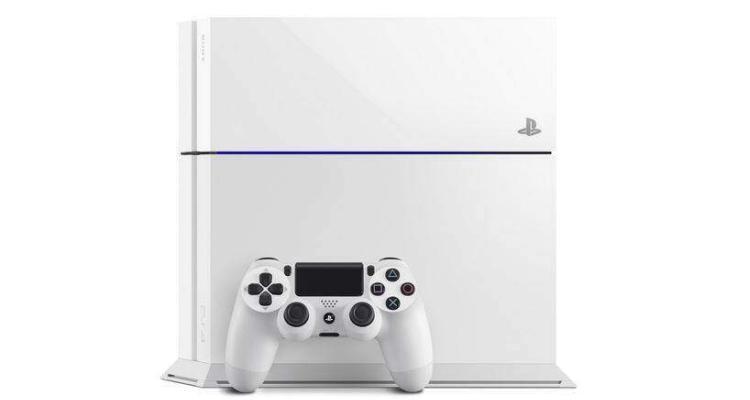 Immagine promozionale PS4 bianca