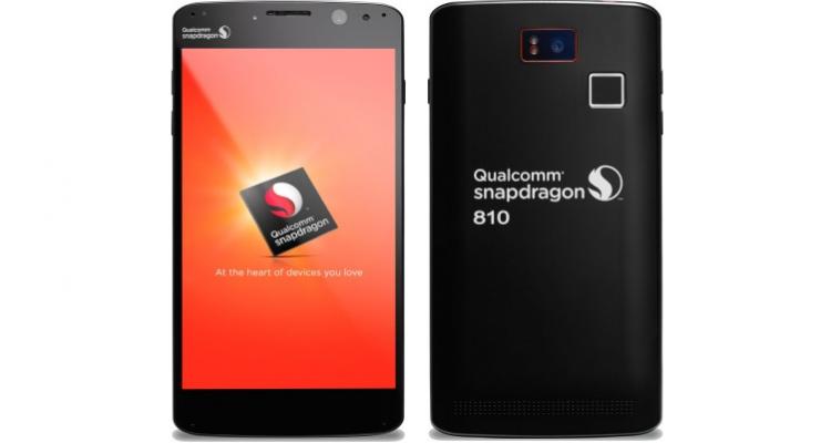 Primo smartphone con Qualcomm Snapdragon 810