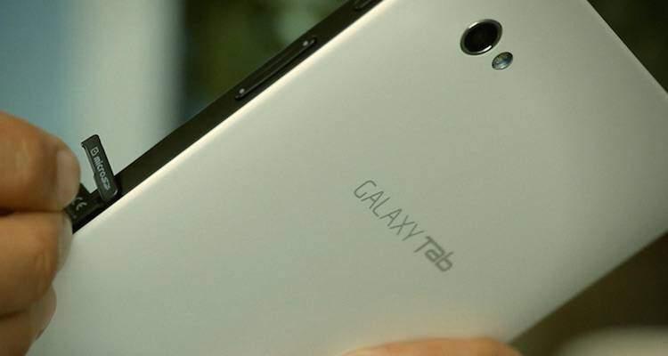 Samsung, i prossimi tablet potrebbero avere uno schermo in 4:3