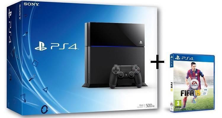 Bundle PS4 (PlayStation 4) più FIFA 15