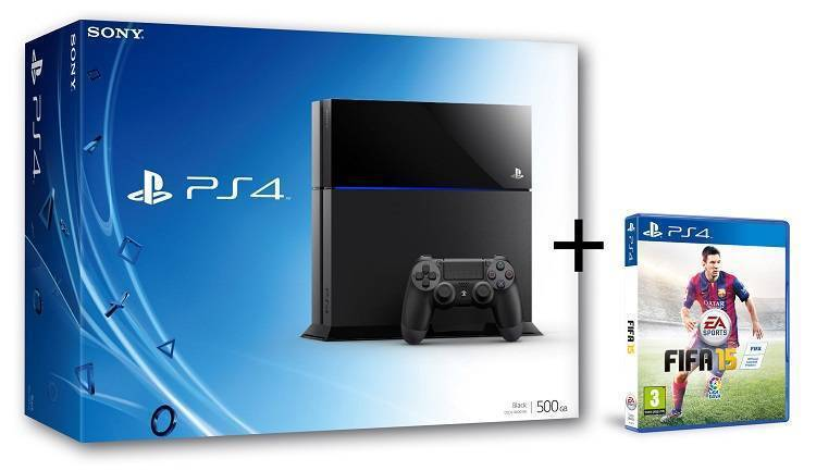 Bundle PS4 + FIFA 15 o Far Cry 4 in offerta su Amazon
