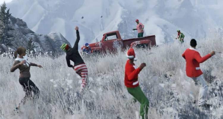 Grand Theft Auto 5: Disponibile l'aggiornamento di Natale