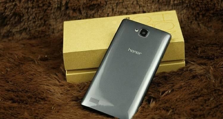 Immagine pubblicitaria di Huawei Honor 3C