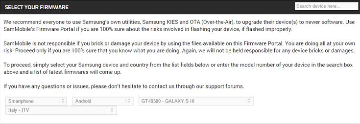 Guida: come installare firmware ufficiali Samsung con Odin