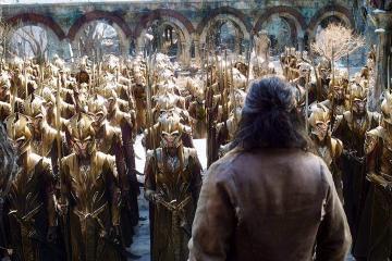 Una scena del nuovo capitolo de Lo Hobbit