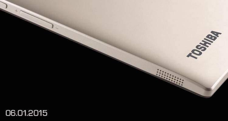 Immagine del nuovo dispositivo Toshiba che verrà presentato al CES 2015