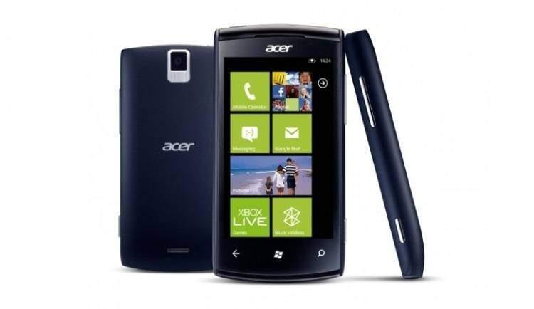 Acer al lavoro su un nuovo smartphone Windows Phone 8.1
