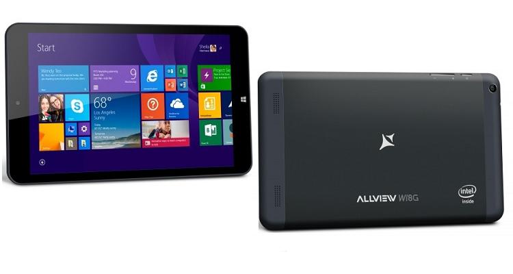 Allview Wi8G, nuovo tablet Windows 8.1 di produzione rumena