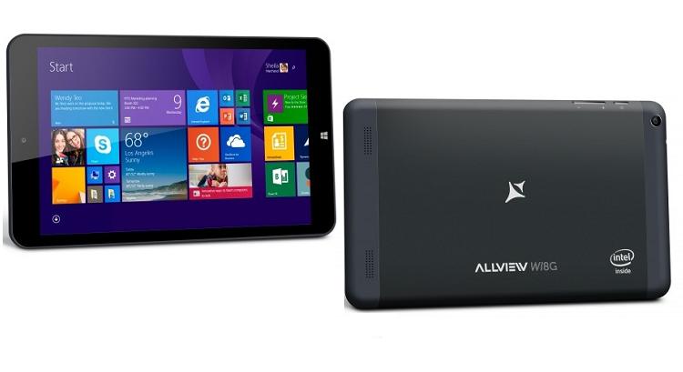 Allview Wi8G, nuovo tablet Windows 8.1 con modulo 3G