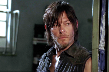Daryl, uno dei protagonisti di The Walking Dead