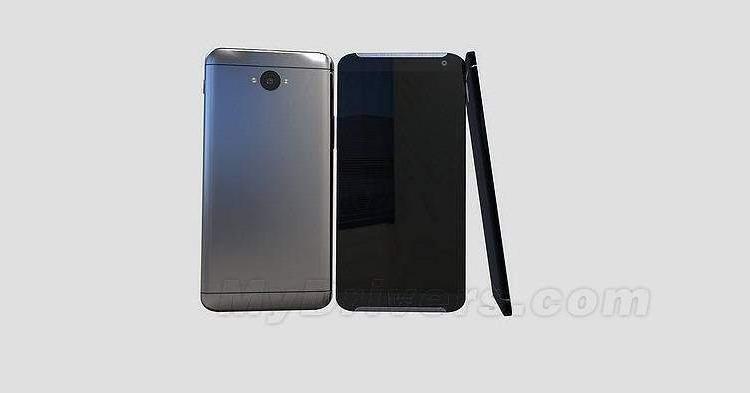 Design ufficioso di HTC One M9