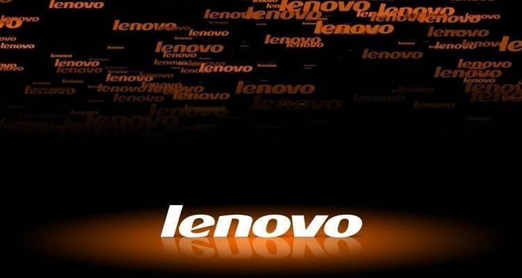 Logo di Lenovo, nota azienda di origine cinese