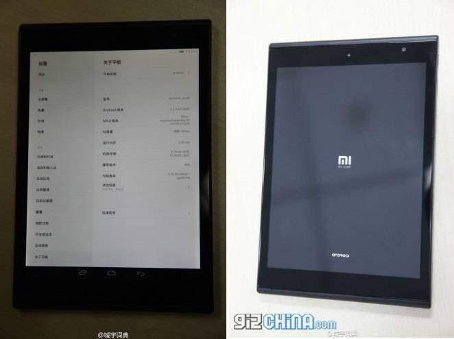 Xiaomi Mi Pad 2: prime immagini in rete?