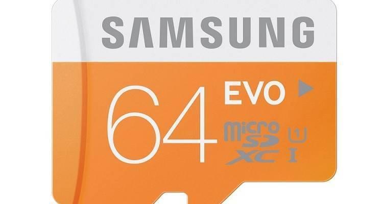 Scheda microSD Samsung in offerta su Amazon
