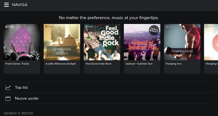 """Spotify annuncia la nuova funzione """"Top Track"""""""