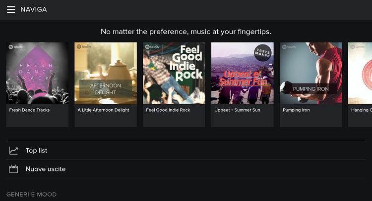 Spotify annuncia l'ultima novità: ecco la funzione Top Track