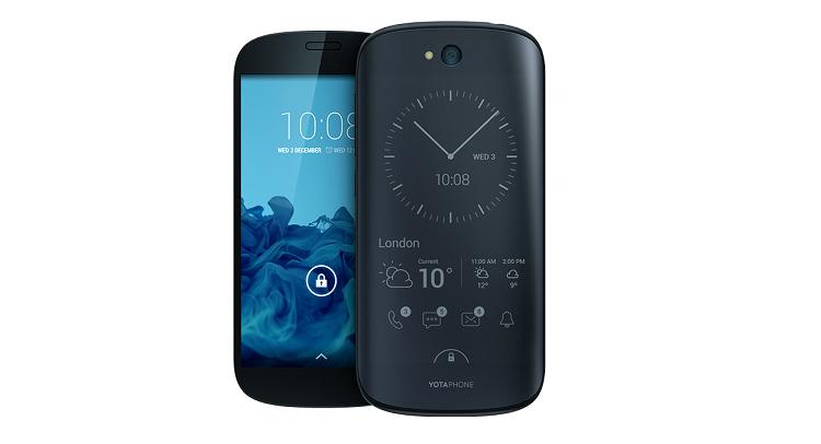 YotaPhone 2 arriva in Europa: le specifiche tecniche