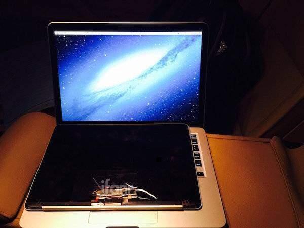 Presunto MacBook Air da 12 pollici con display Retina