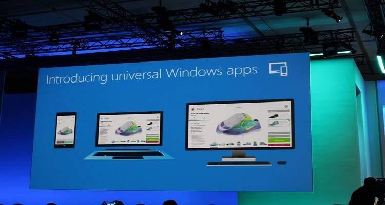 Presentazione Microsoft Universal App