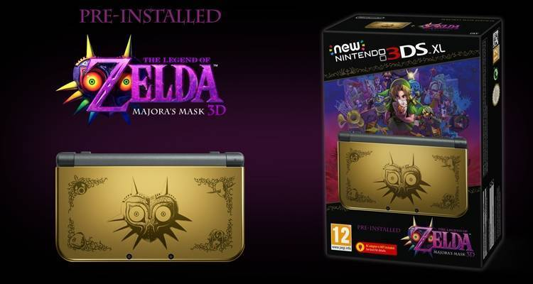 Zelda Majora's Mask 3D: Data di lancio e Bundle