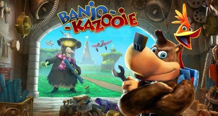 Banjo Kazooie.