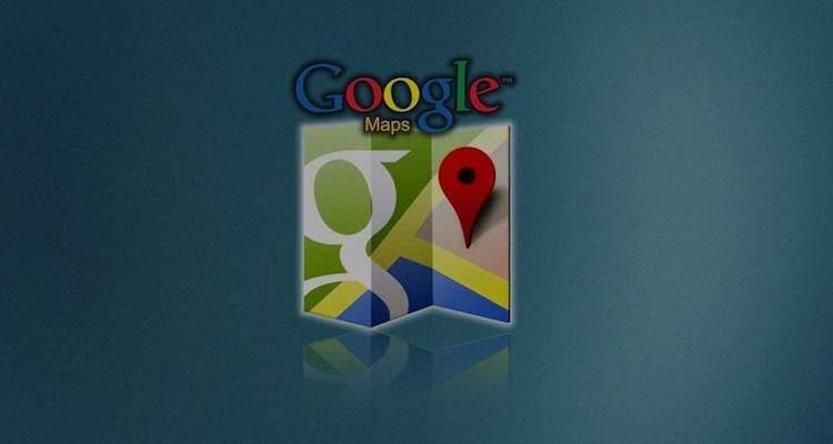 Immagine che mostra il logo di Google Maps