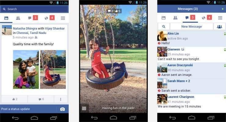 Facebook: rilasciata nuova App leggera per i cellulari Android di fascia bassa