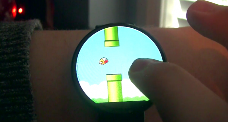 Flappy Bird gioco android wear