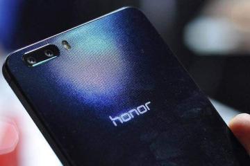 Foto che mostra la parte posteriore del phablet Huawei Honor 6 Plus