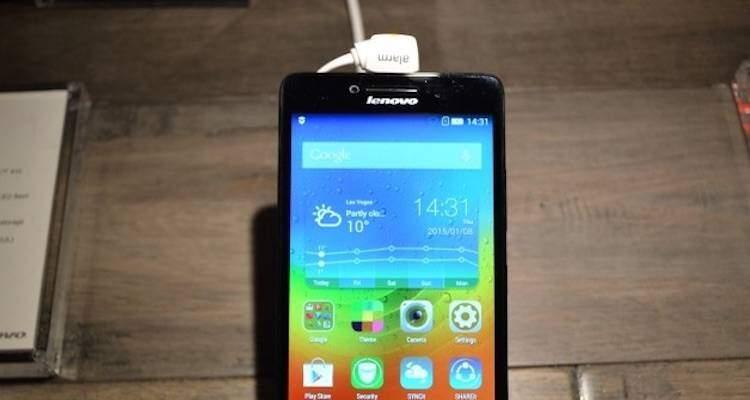 Lenovo presenta il nuovo smartphone Dual Sim A6000