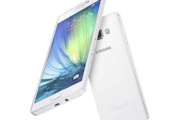 Immagine che mostra il nuovo smartphone Samsung Galaxy A7