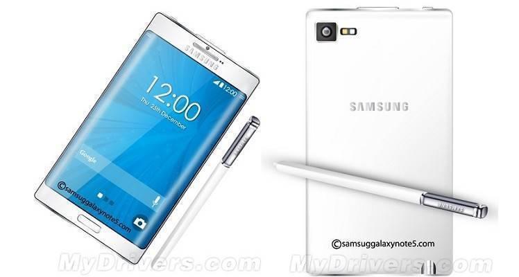 Primo concept di Samsung Galaxy Note 5