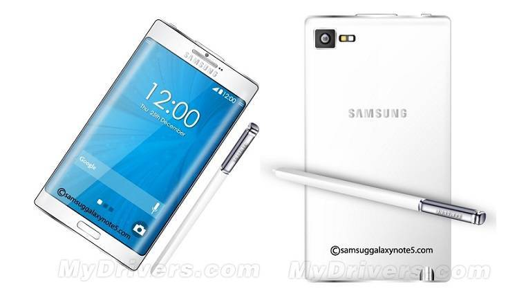 Samsung Galaxy Note 5: in rete il primo concept