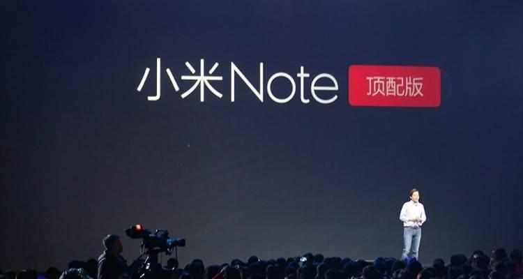 Xiaomi presenta Mi Note e Mi Note Pro