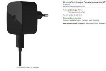 Caricabatterie Motorola Turbo Charger