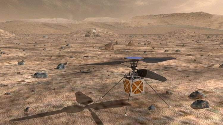 Mars Helicopter: droni volanti della NASA alla conquista di Marte