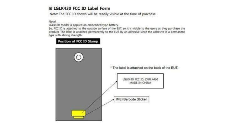LG LK430, nuovo tablet certificato dalla FCC