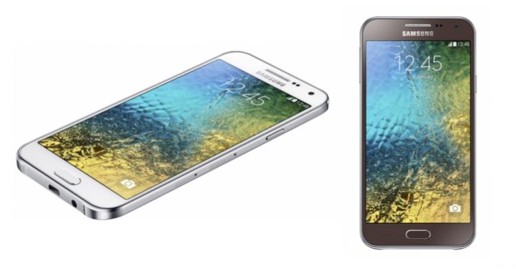 Galaxy E5 e Galaxy E7, nuovi device Samsung