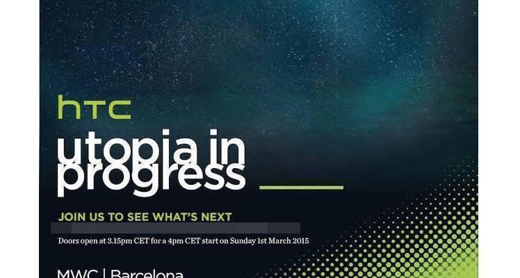 HTC fissa un evento per il 1 Marzo