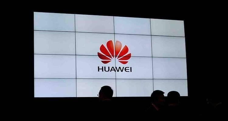 Huawei durante conferenza al CES
