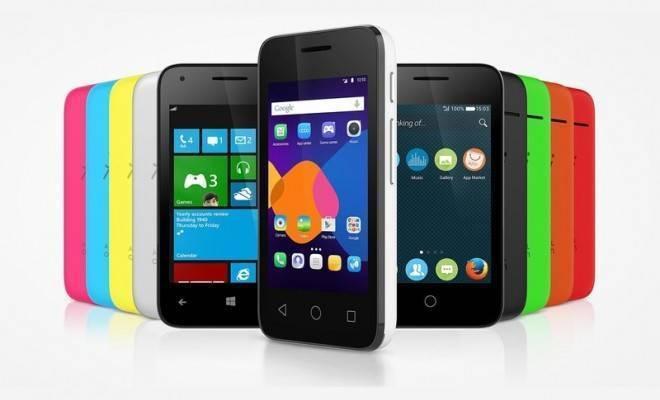 immagine promozionale nuovi smartphone Alcatel