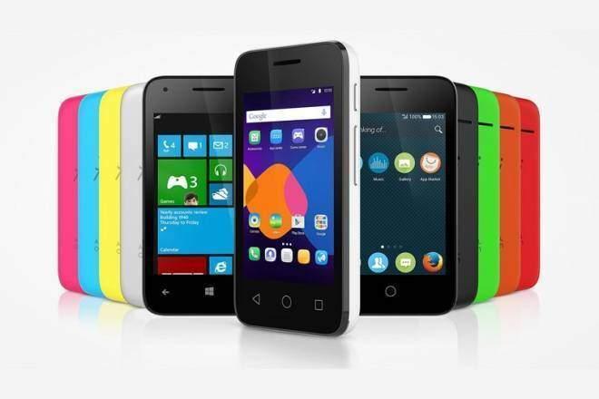 Alcatel presenta 3 smartphone con diversi OS e uno smartwatch economico