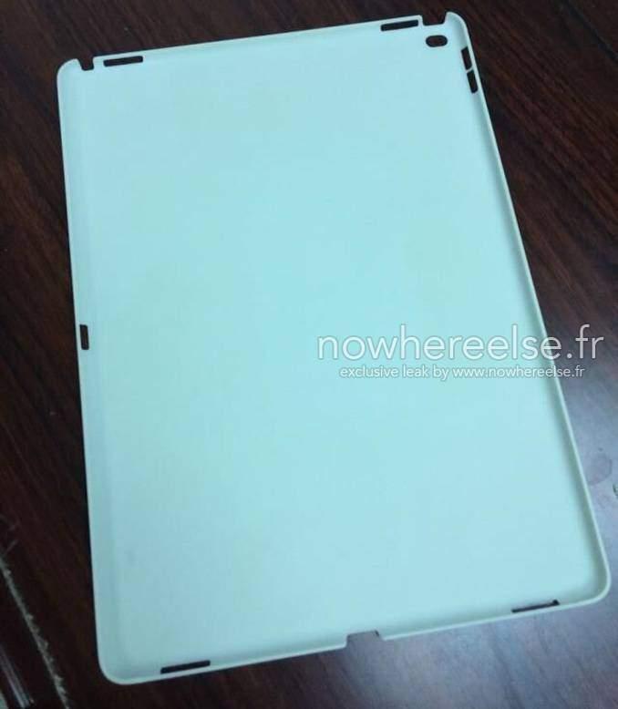 Foto che msotra la presunta cover di iPad Pro