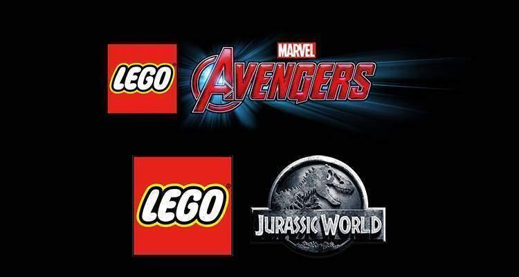 LEGO Marvel's Avengers & LEGO Jurassic World.